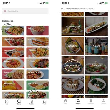 Ifood,Uber Eats, Veganismo, setor alimentício