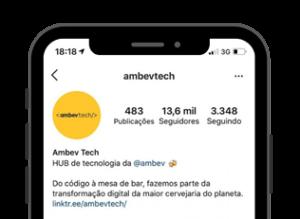 empresa no instagram